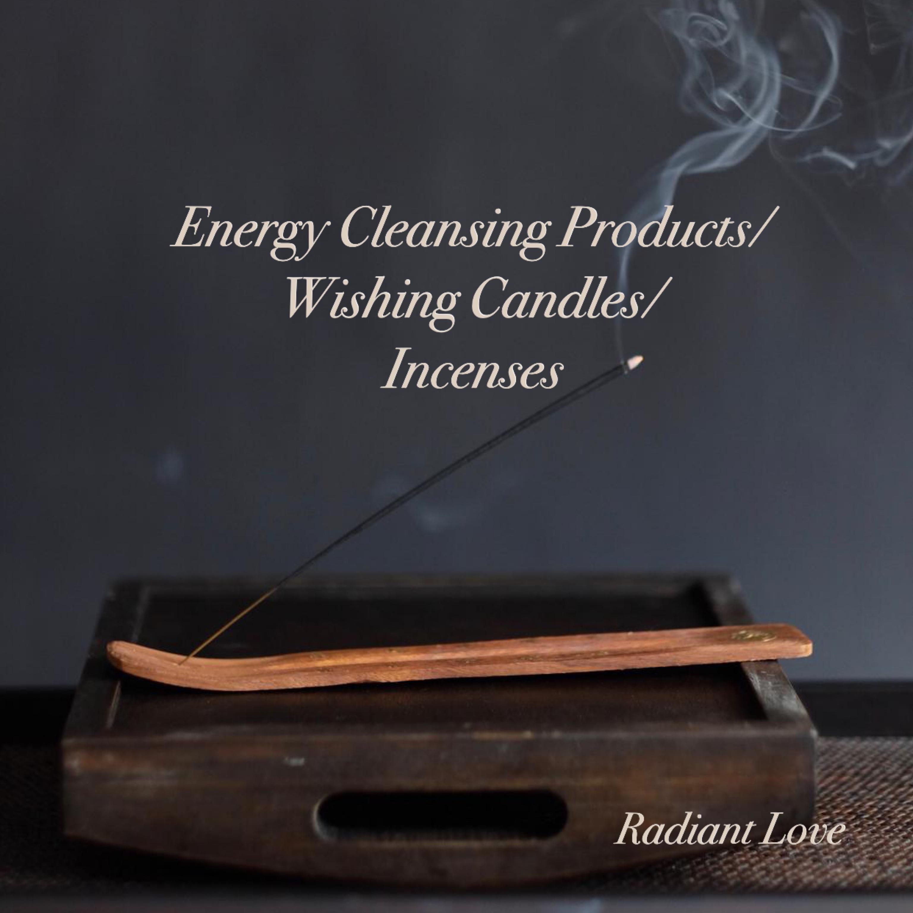 淨化能量產品/許願蠟燭/香支